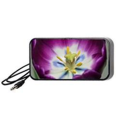 Purple Beauty Portable Speaker (Black)
