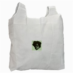 Men s NappyHead BW  Recycle Bag (One Side)