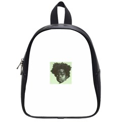 Men s NappyHead BW  School Bags (Small)