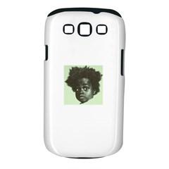 Men s NappyHead BW  Samsung Galaxy S III Classic Hardshell Case (PC+Silicone)