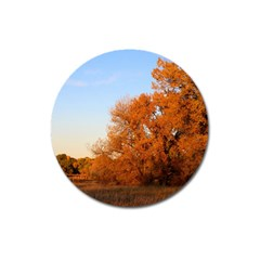 BEAUTIFUL AUTUMN DAY Magnet 3  (Round)