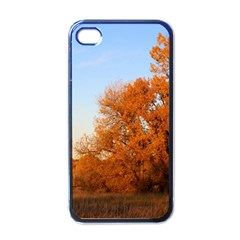 BEAUTIFUL AUTUMN DAY Apple iPhone 4 Case (Black)