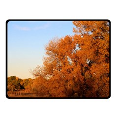 BEAUTIFUL AUTUMN DAY Double Sided Fleece Blanket (Small)