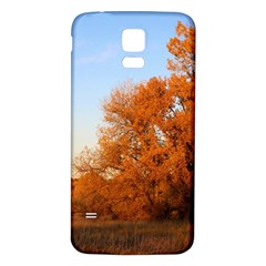 BEAUTIFUL AUTUMN DAY Samsung Galaxy S5 Back Case (White)