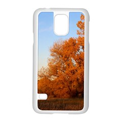 Beautiful Autumn Day Samsung Galaxy S5 Case (white)