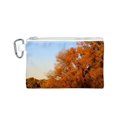 BEAUTIFUL AUTUMN DAY Canvas Cosmetic Bag (S)
