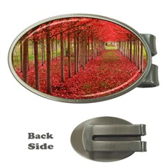 AVENUE OF TREES Money Clips (Oval)