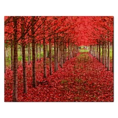 AVENUE OF TREES Rectangular Jigsaw Puzzl