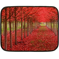AVENUE OF TREES Fleece Blanket (Mini)