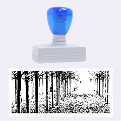 AVENUE OF TREES Rubber Stamps (Large)