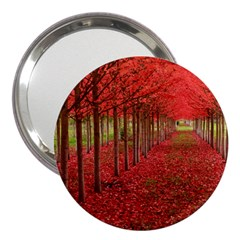 AVENUE OF TREES 3  Handbag Mirrors