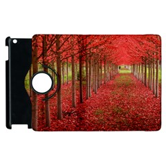 AVENUE OF TREES Apple iPad 2 Flip 360 Case