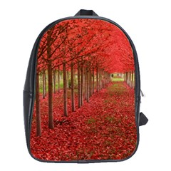 AVENUE OF TREES School Bags (XL)
