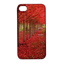 AVENUE OF TREES Apple iPhone 4/4S Hardshell Case with Stand