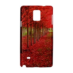 Avenue Of Trees Samsung Galaxy Note 4 Hardshell Case