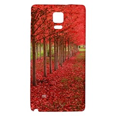 AVENUE OF TREES Galaxy Note 4 Back Case