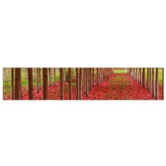 Avenue Of Trees Flano Scarf (small)