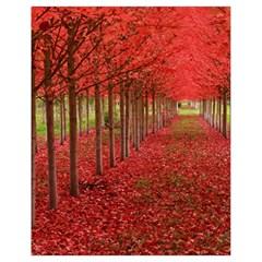 Avenue Of Trees Drawstring Bag (small)