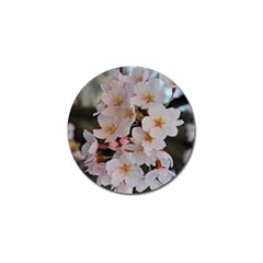 SAKURA Golf Ball Marker (4 pack)