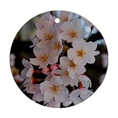 SAKURA Round Ornament (Two Sides)