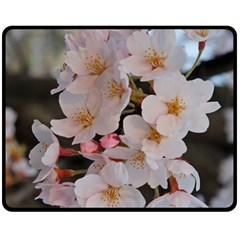 Sakura Fleece Blanket (medium)