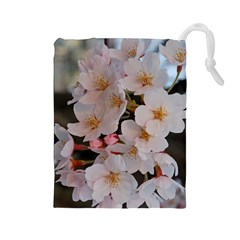 Sakura Drawstring Pouches (large)