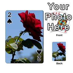 Red Rose 2 Playing Cards 54 Designs