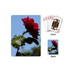 RED ROSE 2 Playing Cards (Mini)