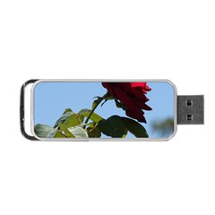 RED ROSE 2 Portable USB Flash (One Side)