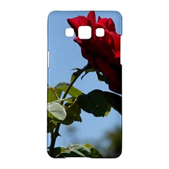 Red Rose 2 Samsung Galaxy A5 Hardshell Case