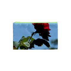 RED ROSE 2 Cosmetic Bag (XS)