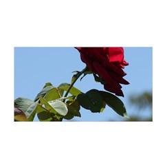 RED ROSE 2 Satin Wrap