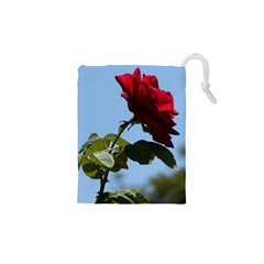 RED ROSE 2 Drawstring Pouches (XS)