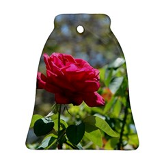 Red Rose 1 Ornament (bell)