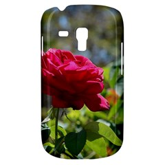RED ROSE 1 Samsung Galaxy S3 MINI I8190 Hardshell Case
