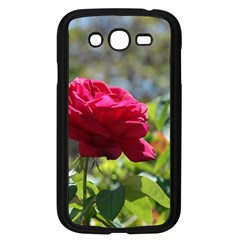 RED ROSE 1 Samsung Galaxy Grand DUOS I9082 Case (Black)