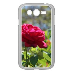 RED ROSE 1 Samsung Galaxy Grand DUOS I9082 Case (White)