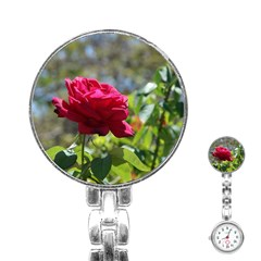 RED ROSE 1 Stainless Steel Nurses Watches