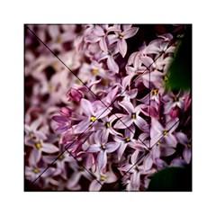 Purple Lilacs Acrylic Tangram Puzzle (6  X 6 )