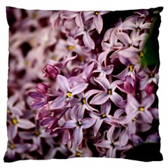 PURPLE LILACS Large Cushion Cases (One Side)