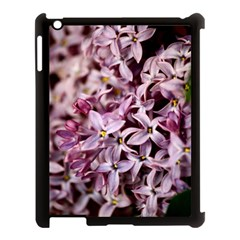 PURPLE LILACS Apple iPad 3/4 Case (Black)