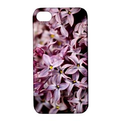 PURPLE LILACS Apple iPhone 4/4S Hardshell Case with Stand