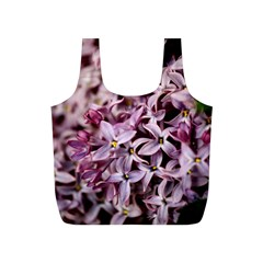 PURPLE LILACS Full Print Recycle Bags (S)