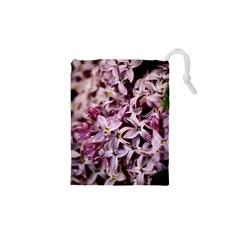 Purple Lilacs Drawstring Pouches (xs)