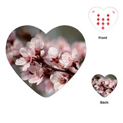 Plum Blossoms Playing Cards (heart)