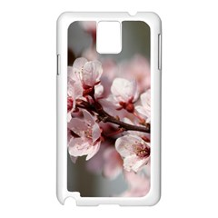 PLUM BLOSSOMS Samsung Galaxy Note 3 N9005 Case (White)