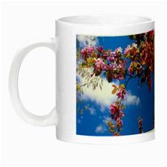 PINK FLOWERS Night Luminous Mugs
