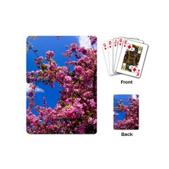 PINK FLOWERS Playing Cards (Mini)