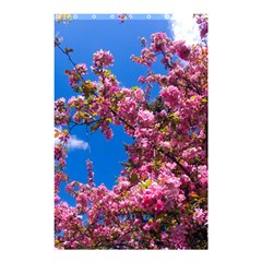 PINK FLOWERS Shower Curtain 48  x 72  (Small)