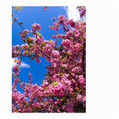 Pink Flowers Small Garden Flag (two Sides)